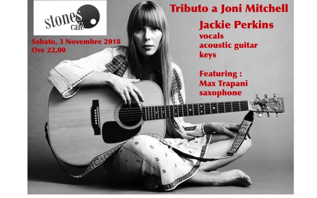 Jackie Perkins Live at Stones Café, Modena
