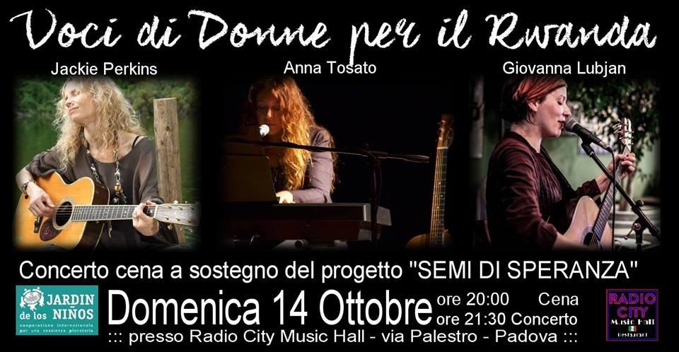 Concerto di beneficenza, Padova