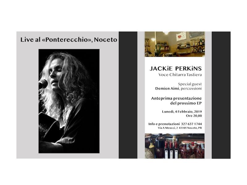 "Jackie Perkins Live al ""Ponterecchio"""