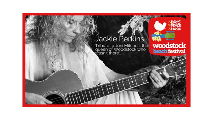 "Jackie Perkins""Tribute to Joni Mitchell, the queen of Woodstock who wasn't there…"""